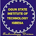 OGITECH Post UTME Screening Form - Qualifications/Application Details