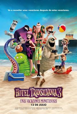 Hotel Transilvania 3 pelicula 2019