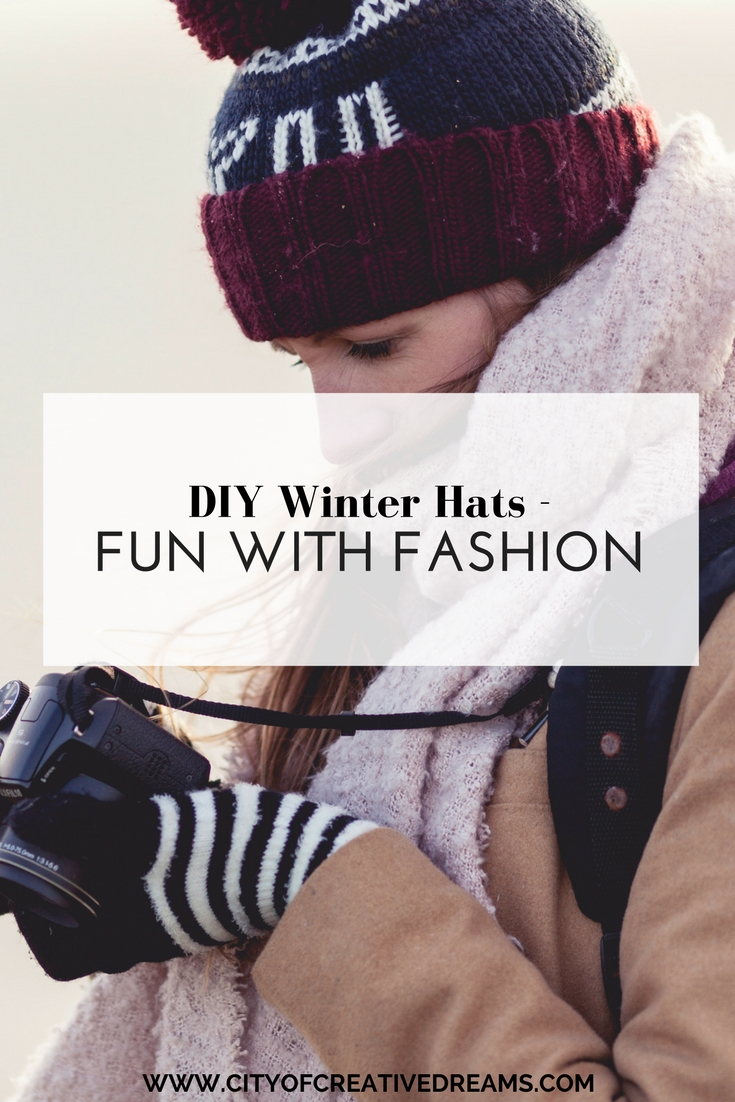 DIY Winter Hats | City of Creative Dreams