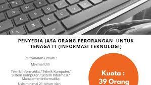 Jasa Tenaga TI 2019