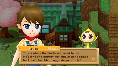Harvest Moon: Light of Hope Unlock Gus's Smithy