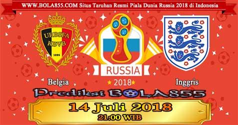 Prediksi Bola855 Belgium vs England 14 Juli 2018