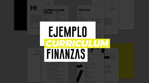 Ejemplo de CV de finanzas