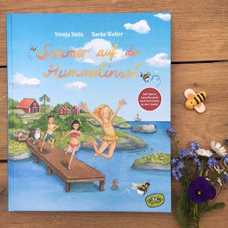 """Titel: """"Sommer auf der Hummelinsel"""" Autor: Svenja Stein Illustrationen: Naeko Walter Verlag: Woow Books"""
