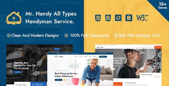 Best Handyman Multi-Services HTML Template