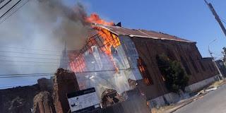 تدنيس وإحراق عدّة كنائس في تشيلي وتكسير الصلبان والتماثيل
