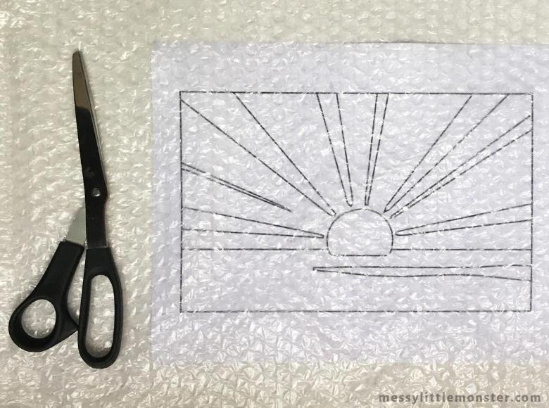 Roy Lichtenstein Sunrise Pop Art for Kids