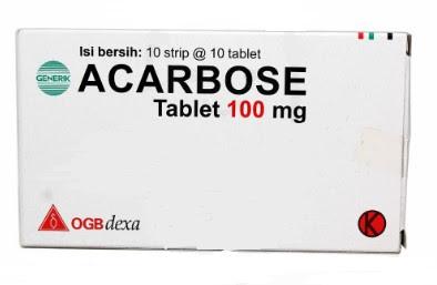 Harga Acarbose Dexa tab Terbaru 2017