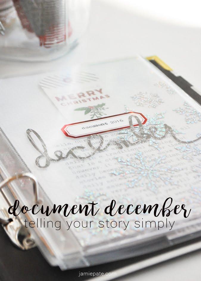 Document December by Jamie Pate with Pink Paislee Yuletide  |  @jamiepate for @pinkpaislee