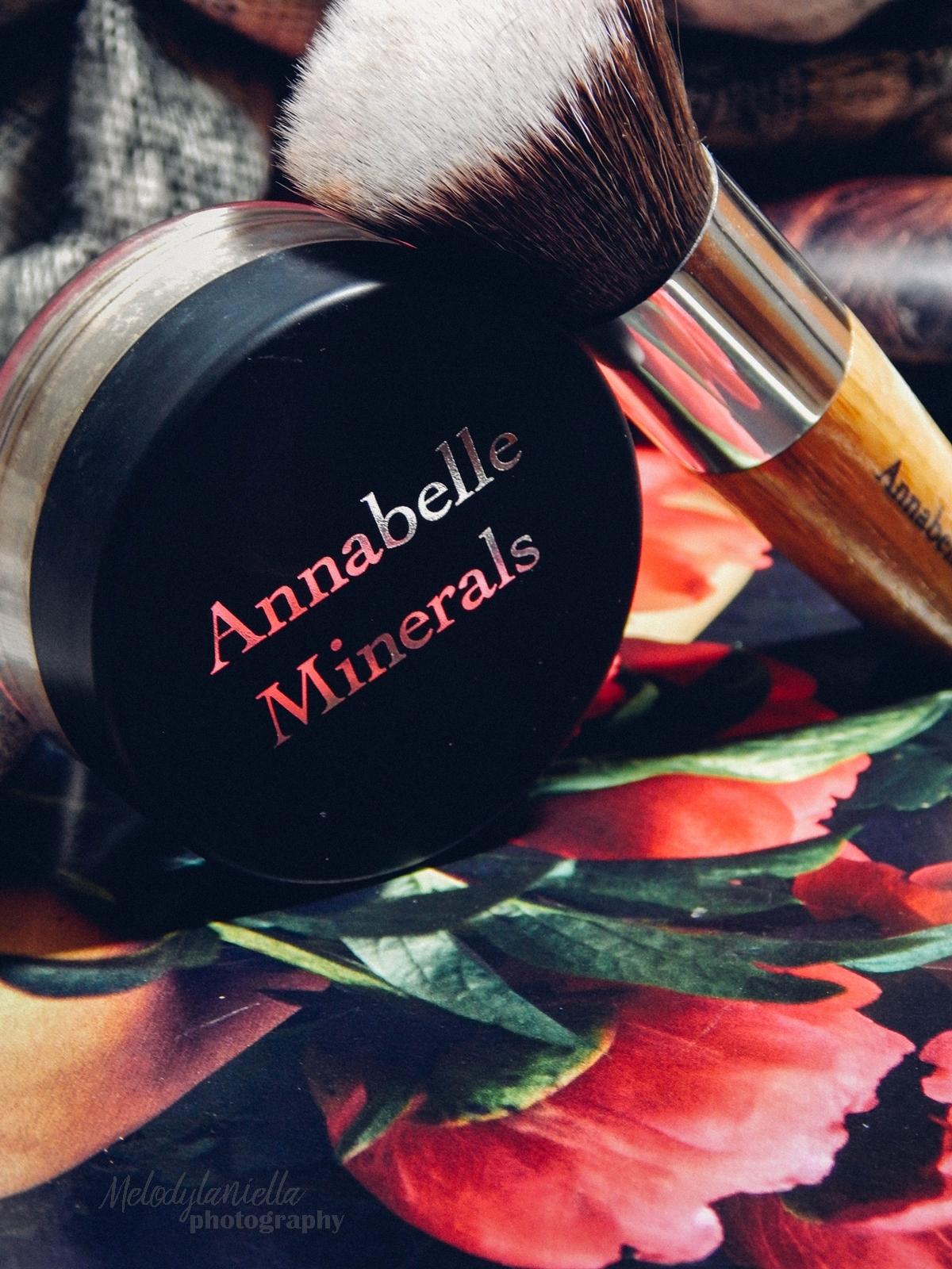 annabelle minerals kosmetyki mineralne zestaw matujący korektor podkład róż gratis pędzel jak używać kosmetyków mineralnych recenzja melodylaniella trzy kroki do zdrowej cery