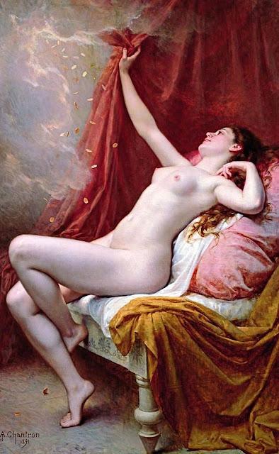 1891. Alexandre-Jacques Chantron - Danae