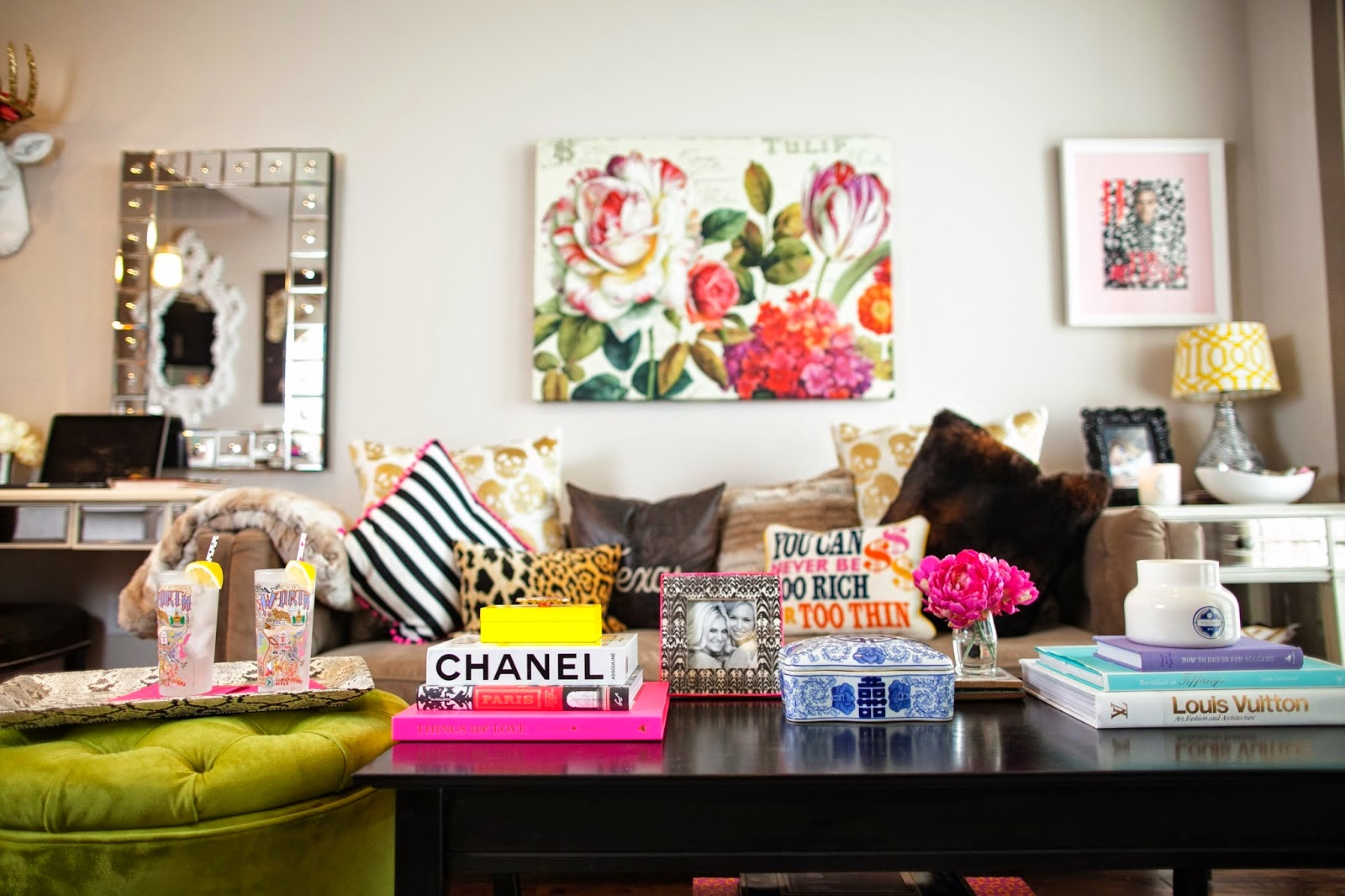 Olivia Palermo Apartment Decor Available Apartment Chronicles Of Frivolity Bloglovin