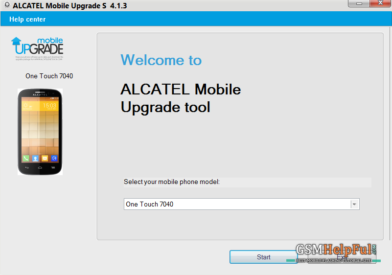 Alcatel ONE TOUCH update tools S v2.7.0 Free download HERE ...