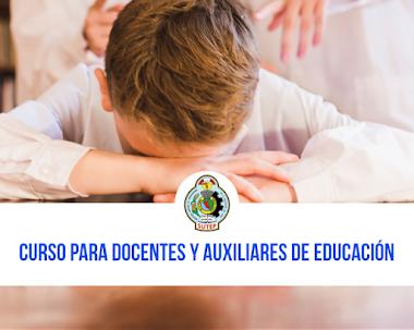 CURSO PARA DOCENTES Y AUXILIARES DE EDUCACIÓN