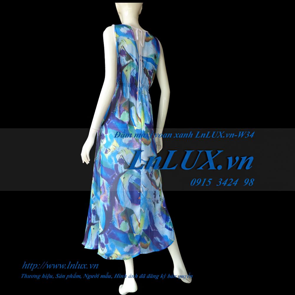 lnlux.vn-dam-maxi-voan-xanh-lnlux-w34.