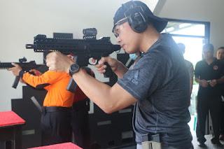 Kapolres Cirebon Kota Latihan Bersama Dengan Danyon C Pelopor