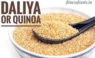 Daliya or quinoa