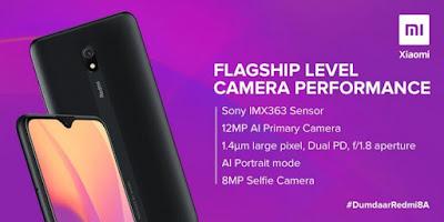 تعرف على مواصفات كاميرا هاتف Redmi 8A