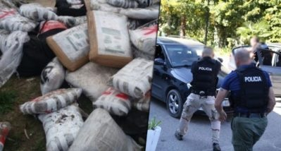 5 persons arrested in Korça dressed as police officers while trafficking cannabis