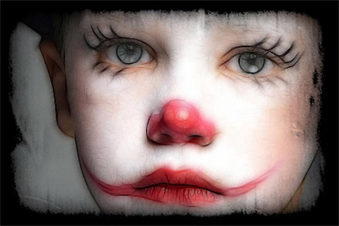 Sad Girl Clown Drawings Sad Images