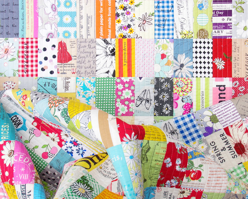 Japanese Stash Buster Quilt - Suzuko Koseki Fabrics and more!