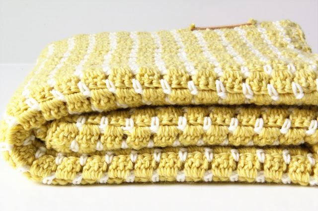 Studio Mojo, gratis patroon, haken, babydeken, vintage look, Sostrene Grene, Gehaakt/ crochet,