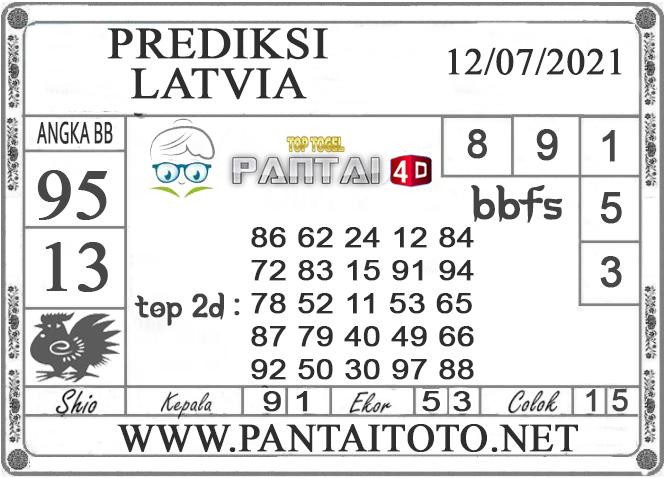 PREDIKSI TOGEL LATVIA PANTAI4D 12 JULI 2021