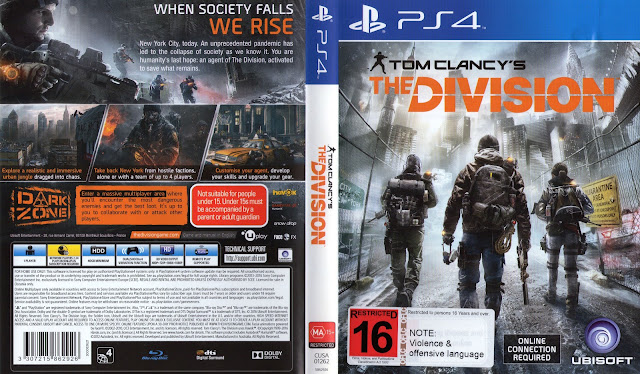 Capa The Division PS4