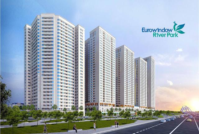 Phối cảnh dự án EuroWindow River Park Đông Trù