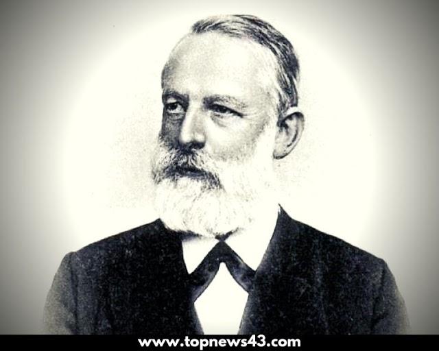German Chemist From The Google Doodle Julius Lothar Meyer