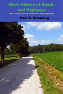 Photo of a book cover depicting a road