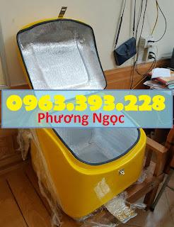 Thùng chở rác y tế, thùng vận chuyển chất thải y tế, thùng chở rác thải nguy hại TCCTYT3