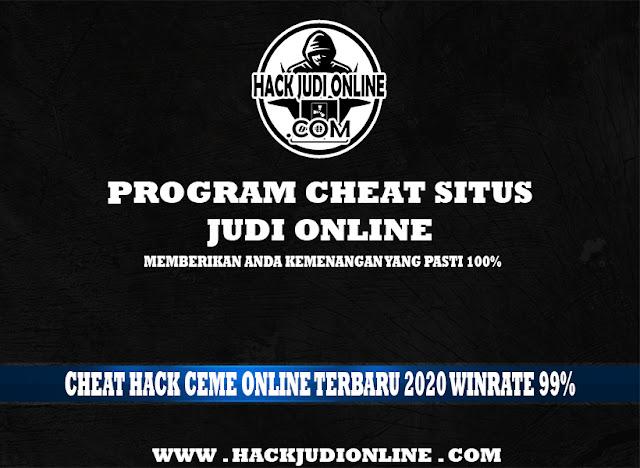 Cheat Hack Ceme Online Terbaru 2020 Winrate 99%