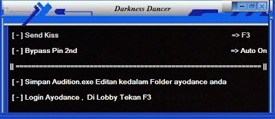 Cheat Ayodance Hack Kiss v.6096 By Darkness Dancer