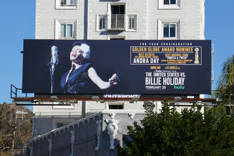 United States vs Billie Holiday nominee billboard