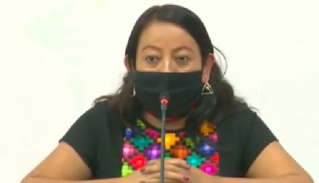 Juana Peñate Montejo, ganadora del Premio de Literaturas Indígenas de América (PLIA).
