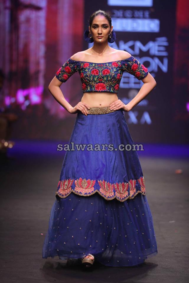 Stylish Lehenga from Lakme Fashion Week