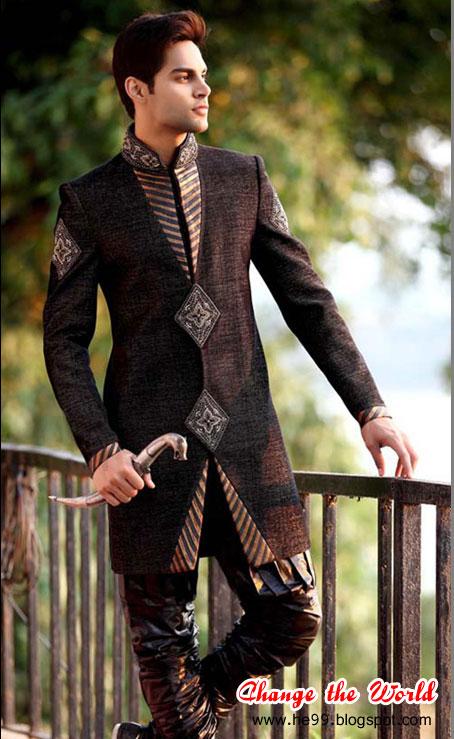 Groom Sherwani New Wedding Style Stylish Sharwani B