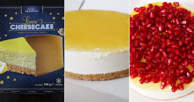 Aldi prestige lemon cheesecake