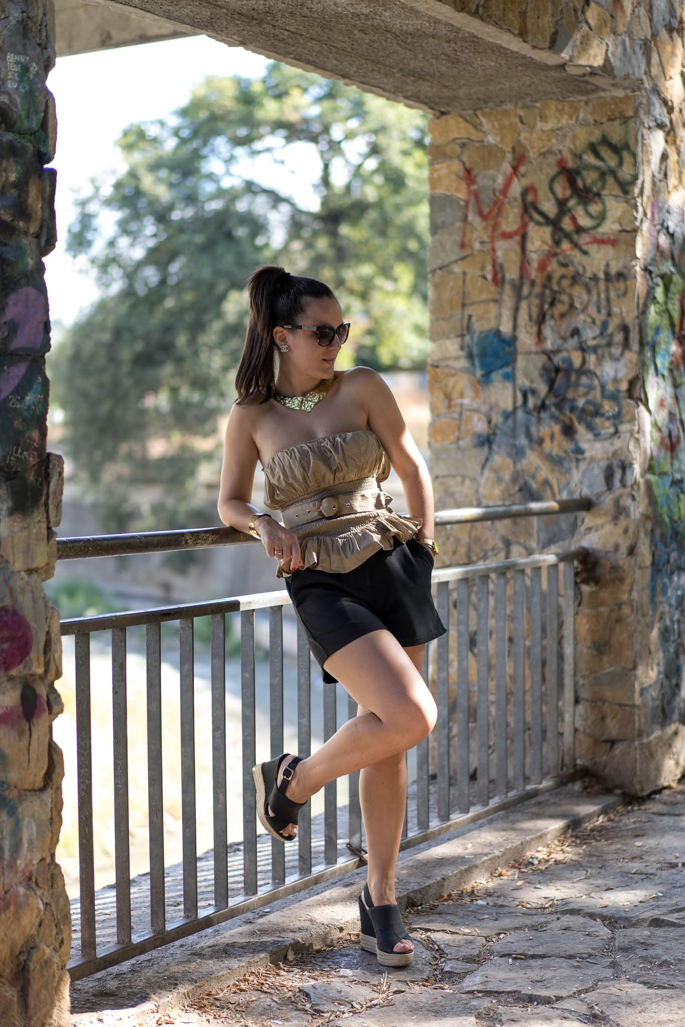 shorts a vita alta come abbinarli alla perfezione