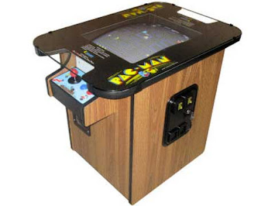 Il cabinato cocktail di Pac-Man