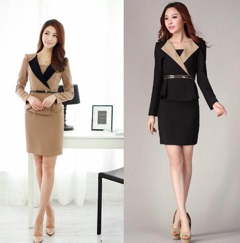 model baju kerja wanita 2016