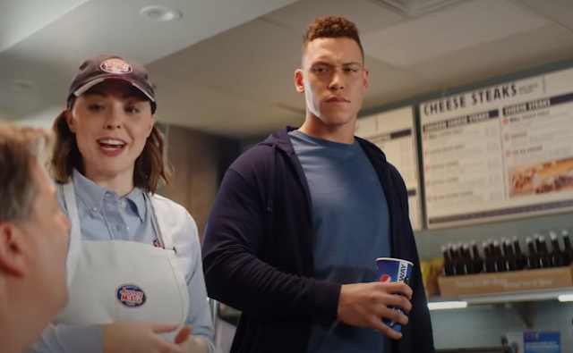 Aaron Judge stars in Jersey Mikes commercial