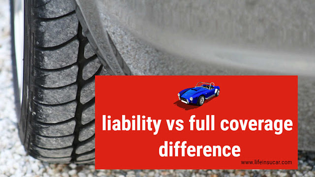 liability vs full coverage difference