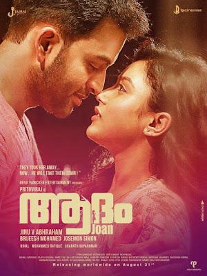 Adam Joan (2017) Dual Audio [Hindi – Malayalam] 720p | 480p UNCUT HDRip x264 1.2Gb | 500Mb