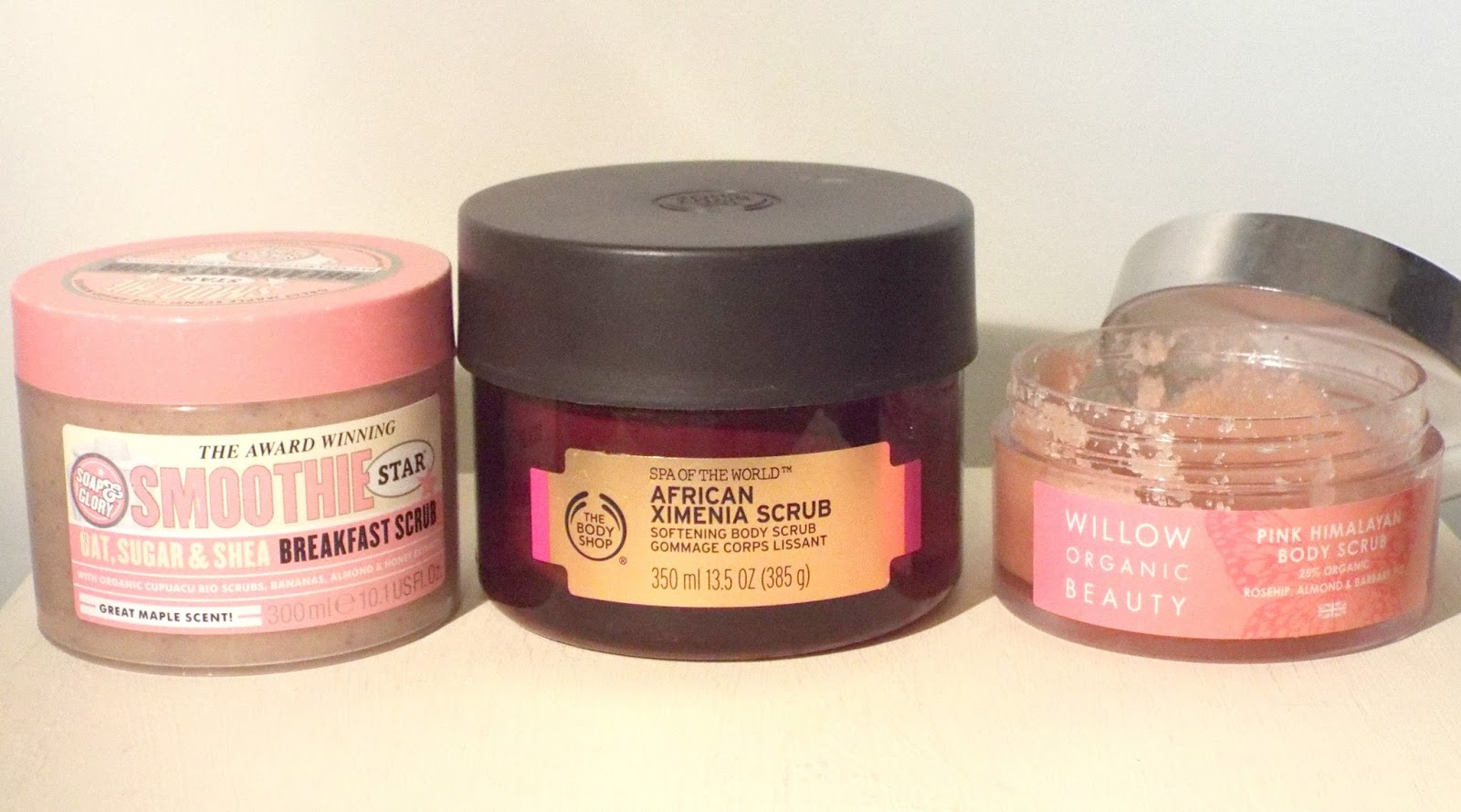 body shop african body scrub review