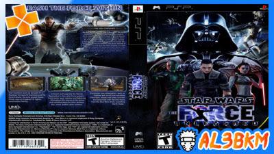 تحميل لعبة Star Wars The Force Unleashed psp بحجم صغير لمحاكي ppsspp