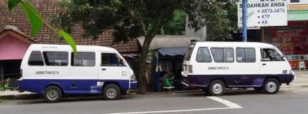 Foto Ilustrasi angkot di Tasikmalaya