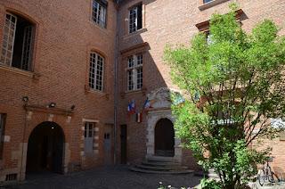 Pati interior de l'Ajuntament d'Albi