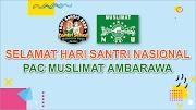 Banner Ucapan Selamat Hari Santri 2020 Modern Free Download CDR